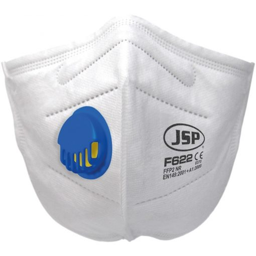 JSP F622 FFP2 NR hajtogatott szelepes pormaszk