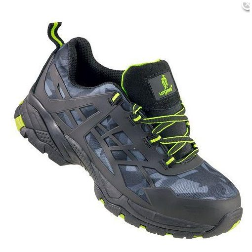 Urgent Cipő TERRENO 238 S1 szürke terepmintás