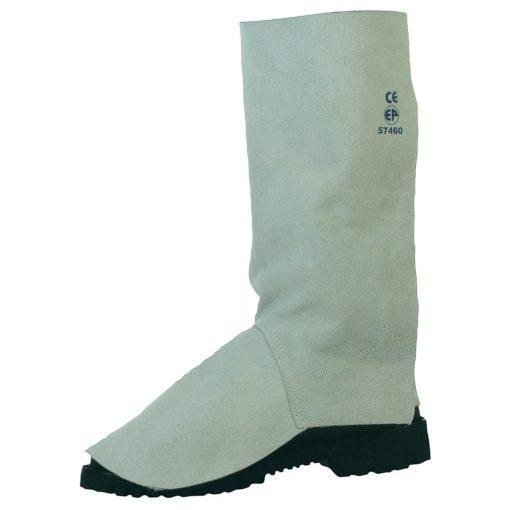 Hegesztő lábszárvédővédő- tépőzáras