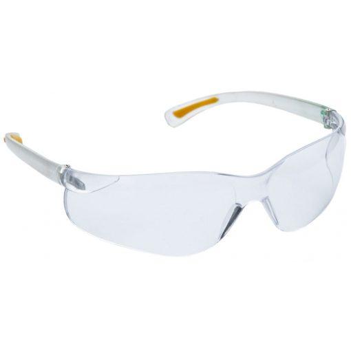 Phi víztiszta/Füstszínű karcmentes védőszemüveg