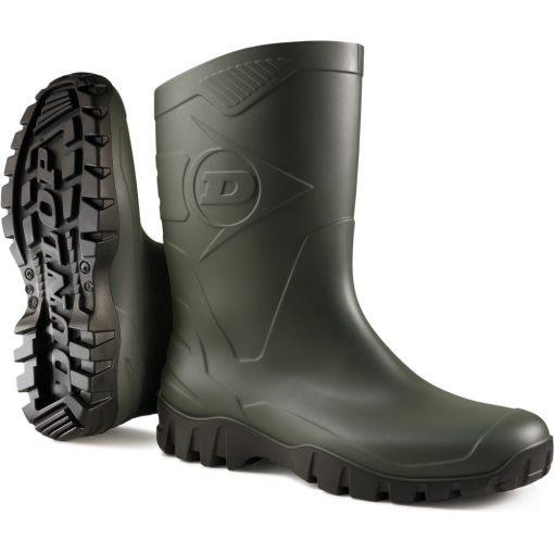 Dunlop dee rövidszárú pvc csizma