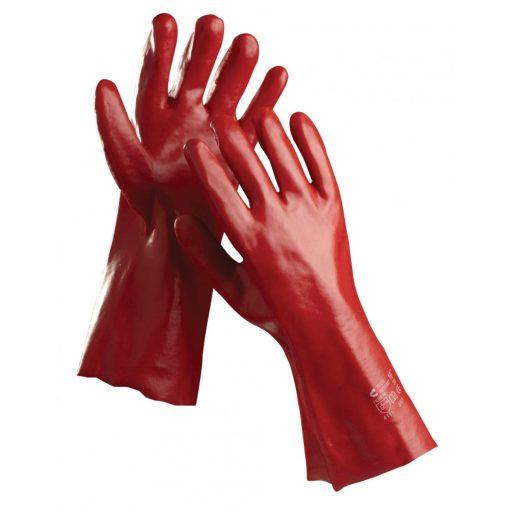 Redstart 35cm PVC mártott munkavédelmi kesztyű