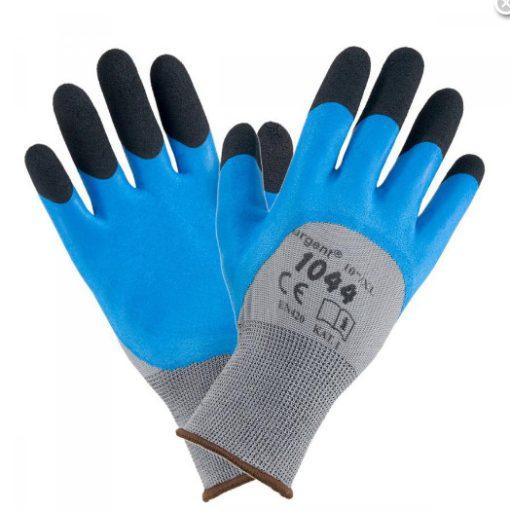 Urgent 1044 latex mártott munkavédelmi kesztyű